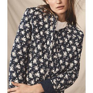 Rebecca Minkoff Quilted Floral Jacket